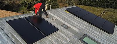 Installation chauffe eau solaire Montélimar Drôme