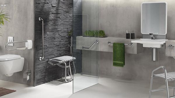 Installation salle de bains PMR Montélimar Drôme