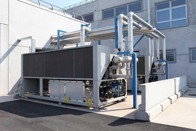 Installation pompe à chaleur pour secteur industriel Montélimar